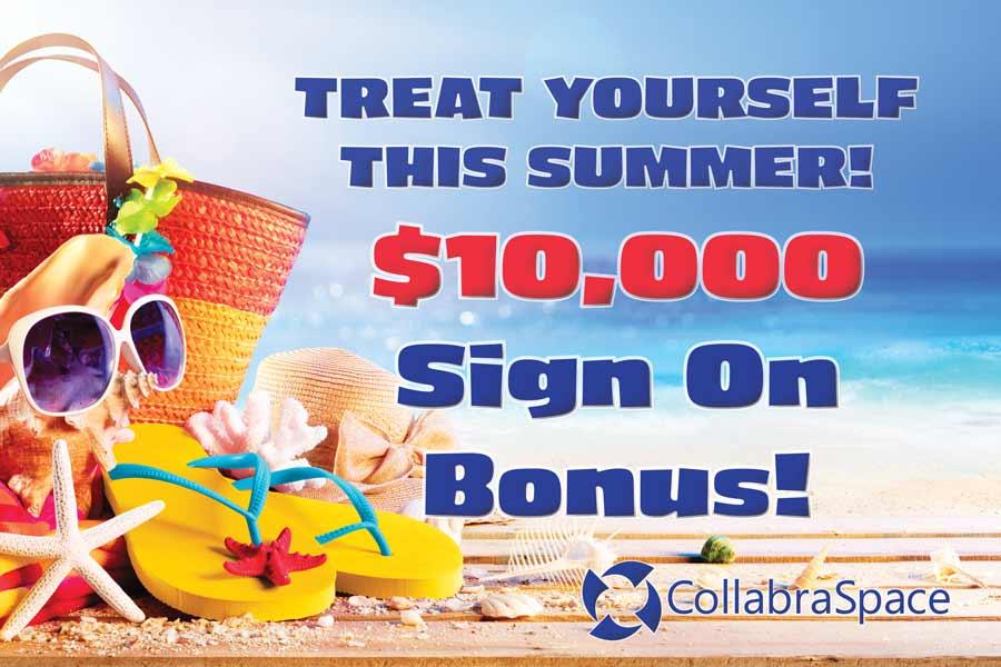 Limited Time $10k Sign On Bonus!