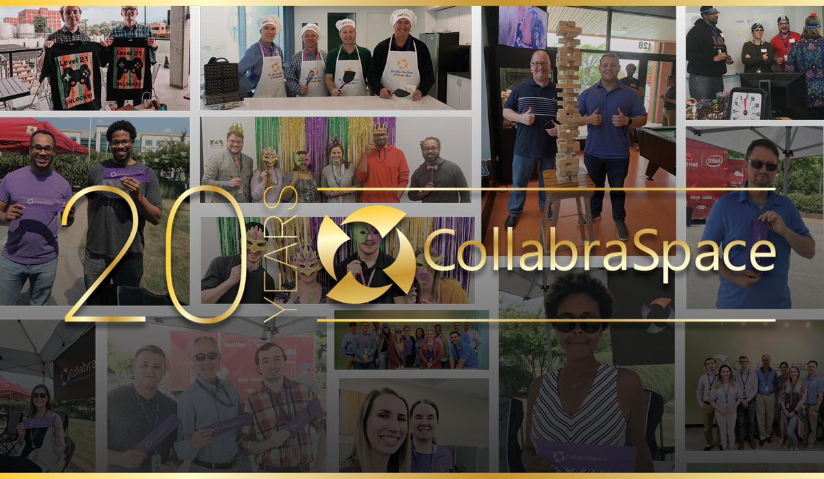 🎉 CollabraSpace Celebrates 20th Anniversary! 🎉