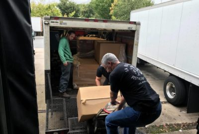 CollabraSpace makes a donation to Bags of Love for Puerto Rico!