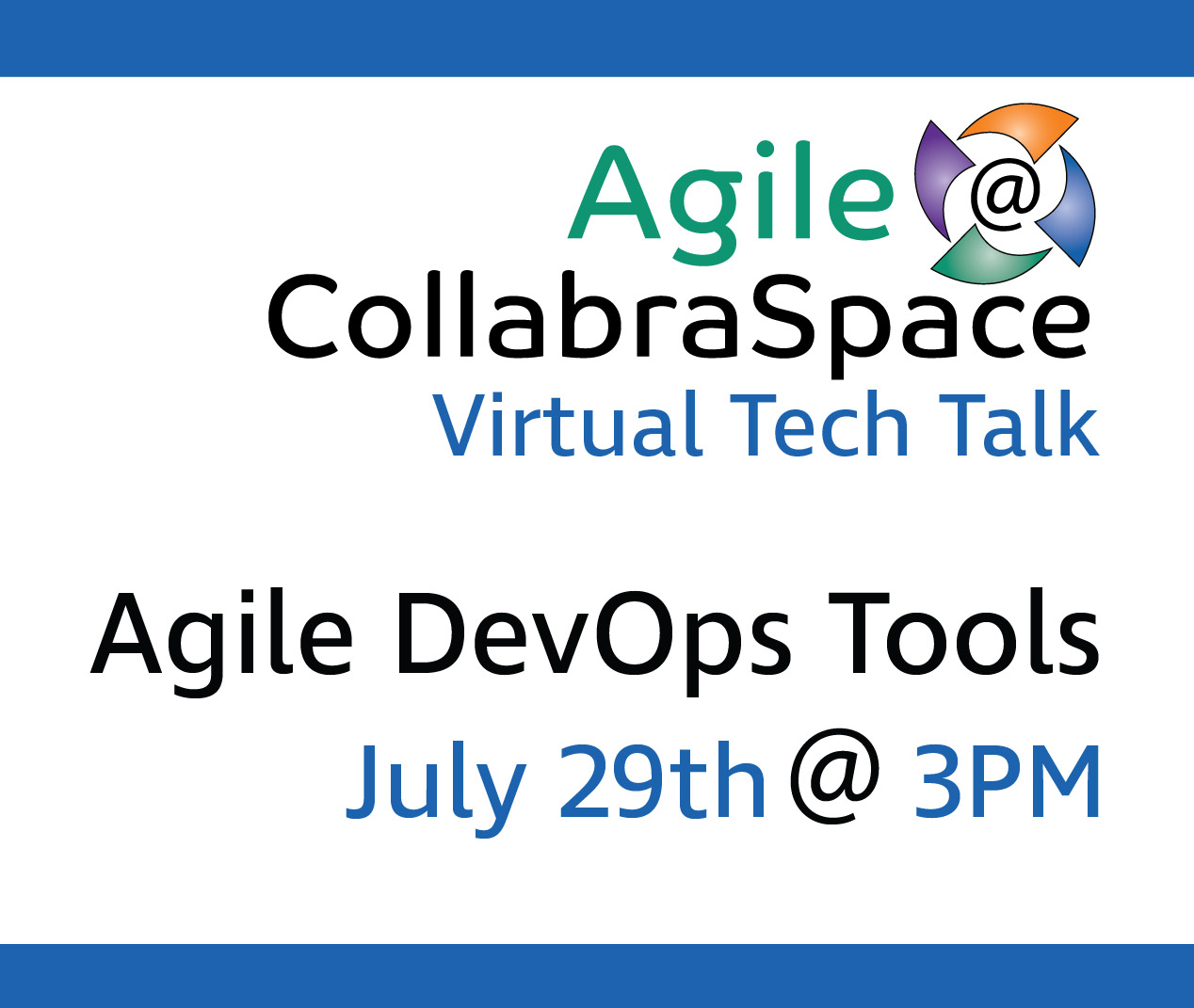 DevOps Tools Virtual Tech Talk: July 29th@ 3PM