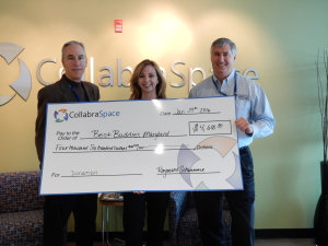 CollabraSpace Donates to Best Buddies Maryland