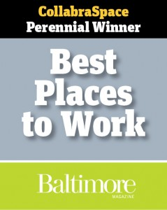 CollabraSpace selected as one of the Best Places to Work 2013!
