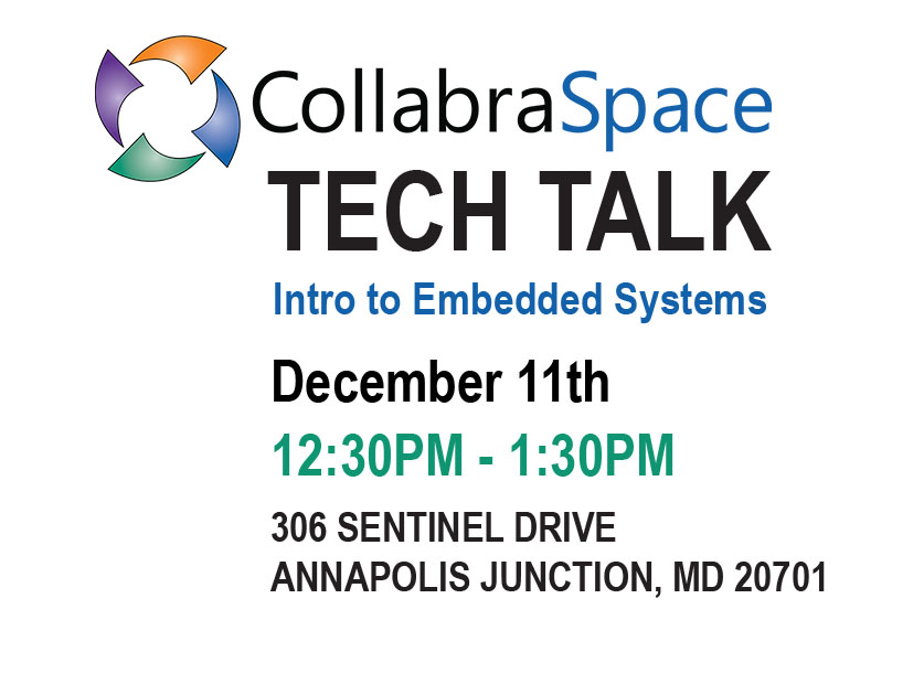 December 11th Tech Talk: Intro to Embedded Systems