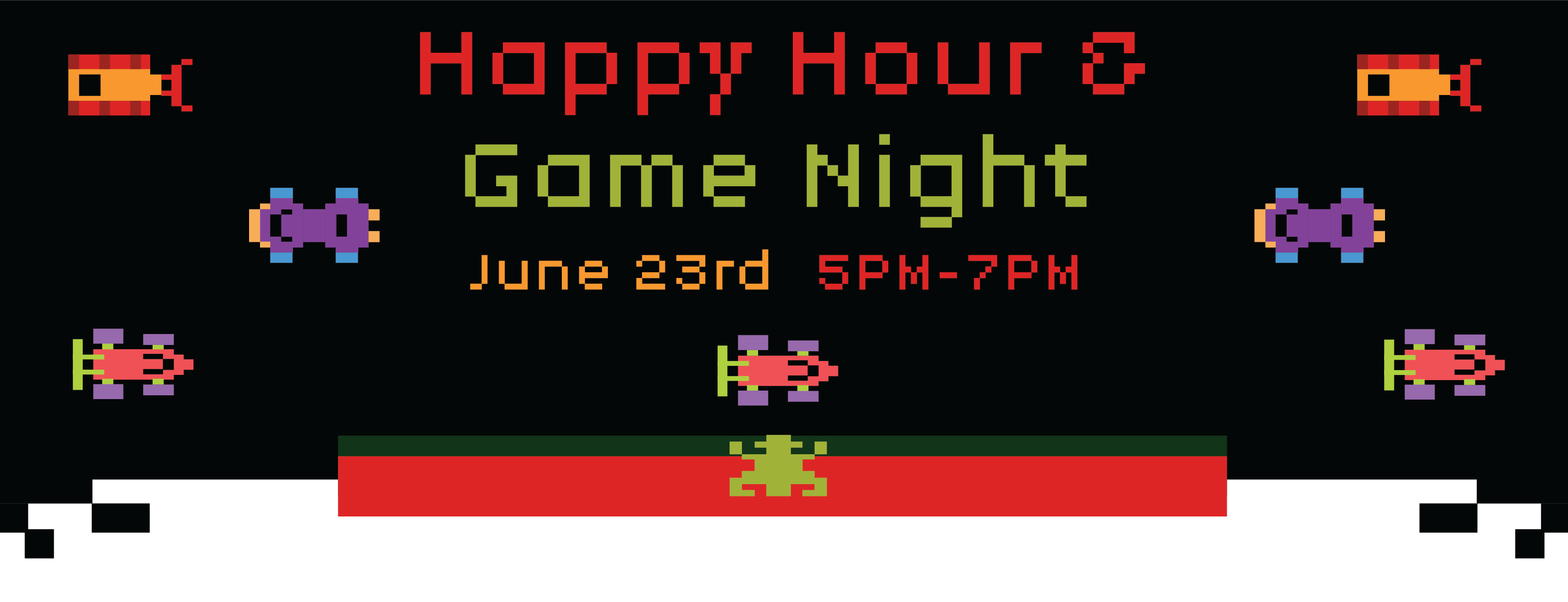 June 23rd Happy Hour & Game Night!