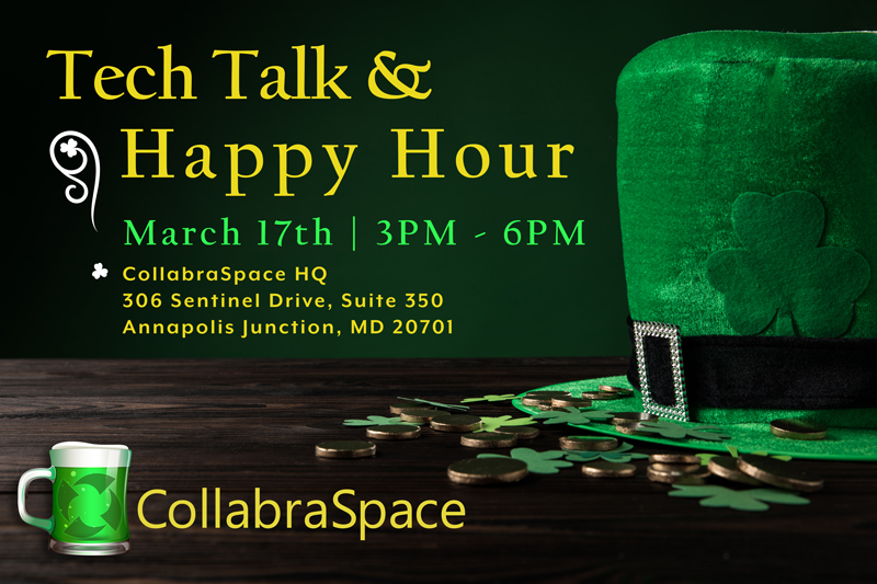 Agile@CollabraSpace Tech Talk & Happy Hour