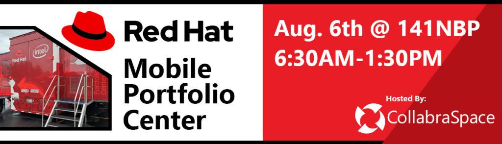 Red Hat Mobile Portfolio Center | Aug. 6th