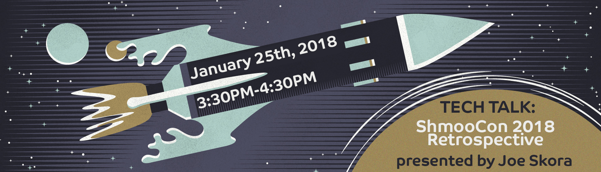 January 25th Tech Talk: ShmooCon 2018 Retrospective