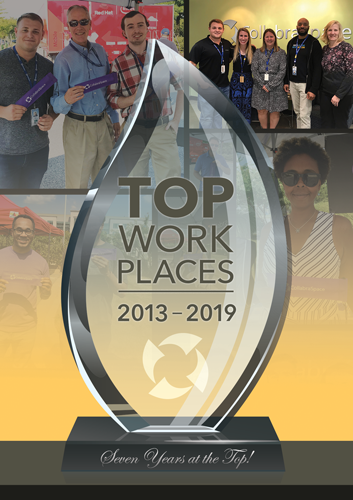 CollabraSpace is 2019 Baltimore Sun Top Workplace!