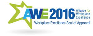 CollabraSpace was selected as an Alliance for Workplace Excellence's 2016 Workplace Excellence Seal of Approval Winner!